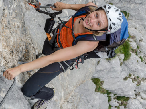 Adler Klettersteig | mit Startgewitter